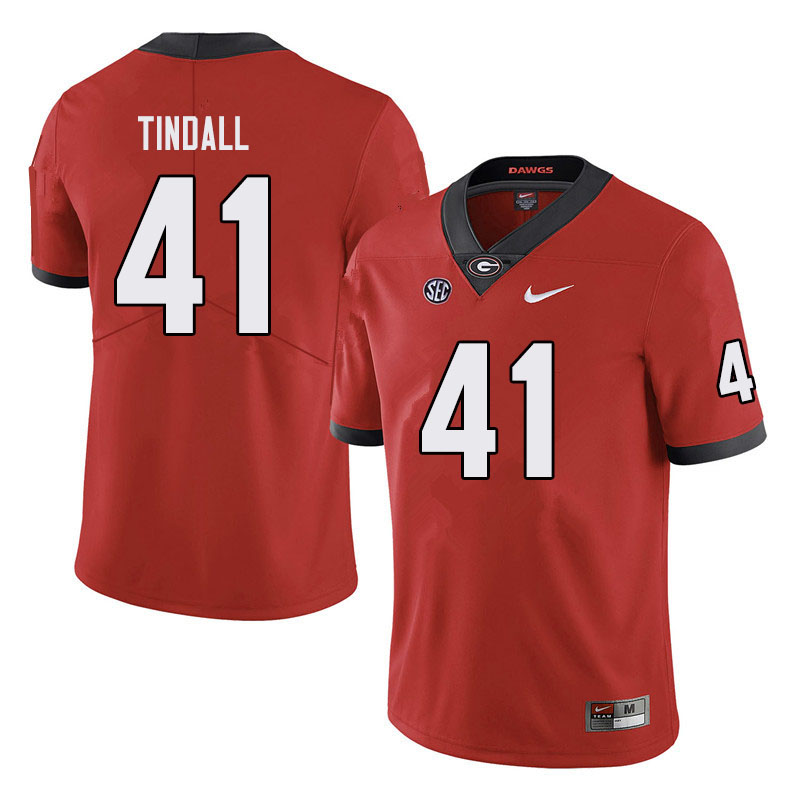 Men #41 Channing Tindall Georgia Bulldogs College Football Jerseys Sale-Black
